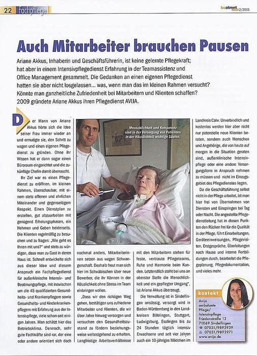 avija ambulante pflege intensivpflege ariane akkus heimbeatmung intensivpflege pflegedienst. Black Bedroom Furniture Sets. Home Design Ideas